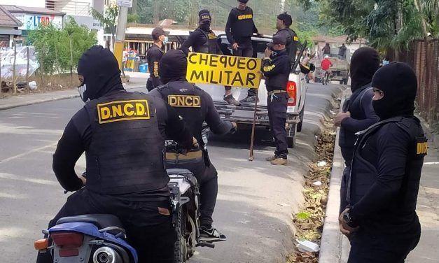 DNCD apresa 13 personas, ocupa drogas y dinero en operativos en Jarabacoa