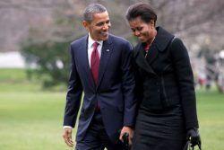 Barack Obama y su mujer, la primera dama Michelle Obama, un poco de su vida